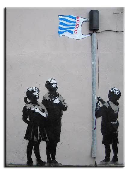 Banksy-Tesco-kids-canvas