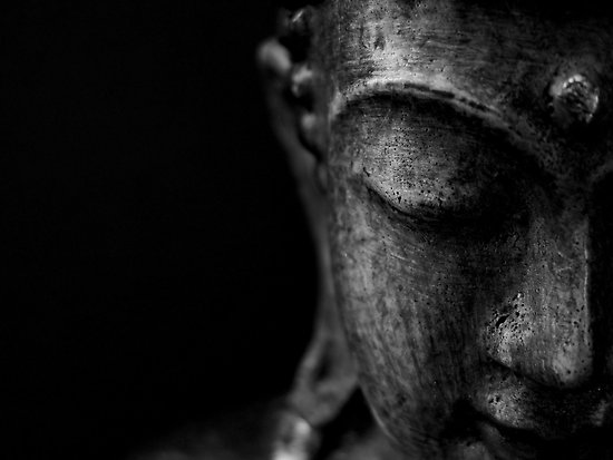 Buddha side face