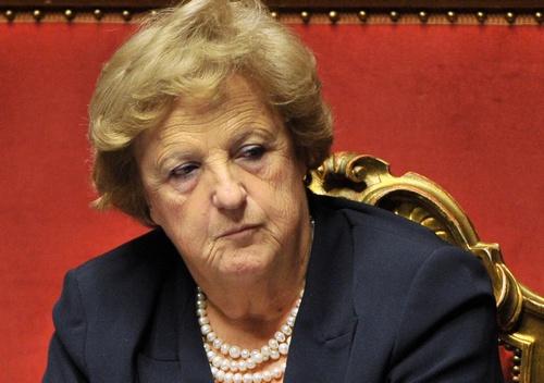 Italian foreign minister Anna Maria Canc