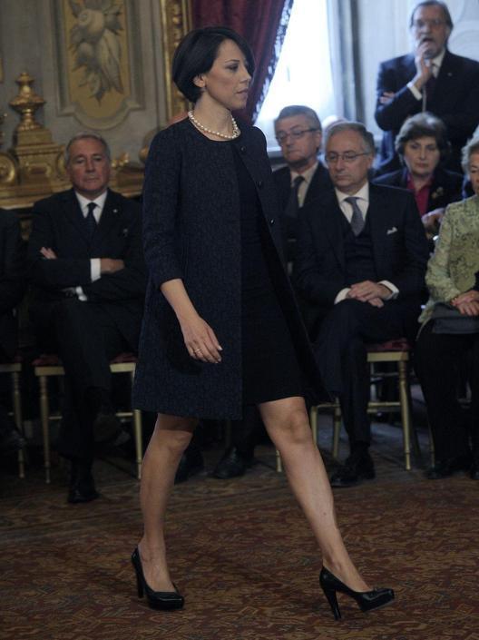 Roma - Giuramento del governo al Quirinale