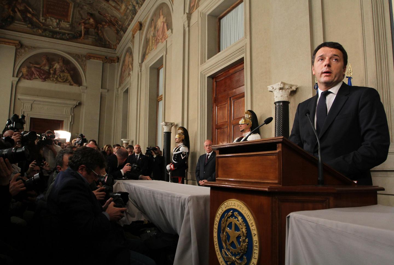 RAVAGLI - QUIRINALE: MATTEO RENZI RICEVE L INCARICO DI FORMARE IL GOVERNO