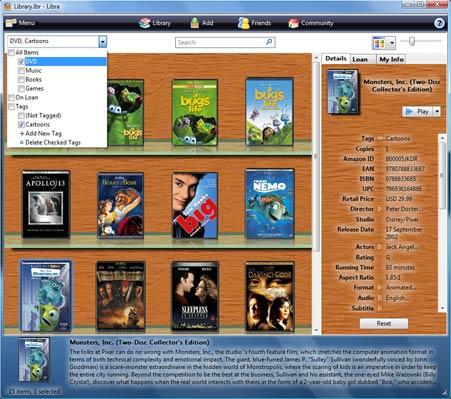 LibraScreen