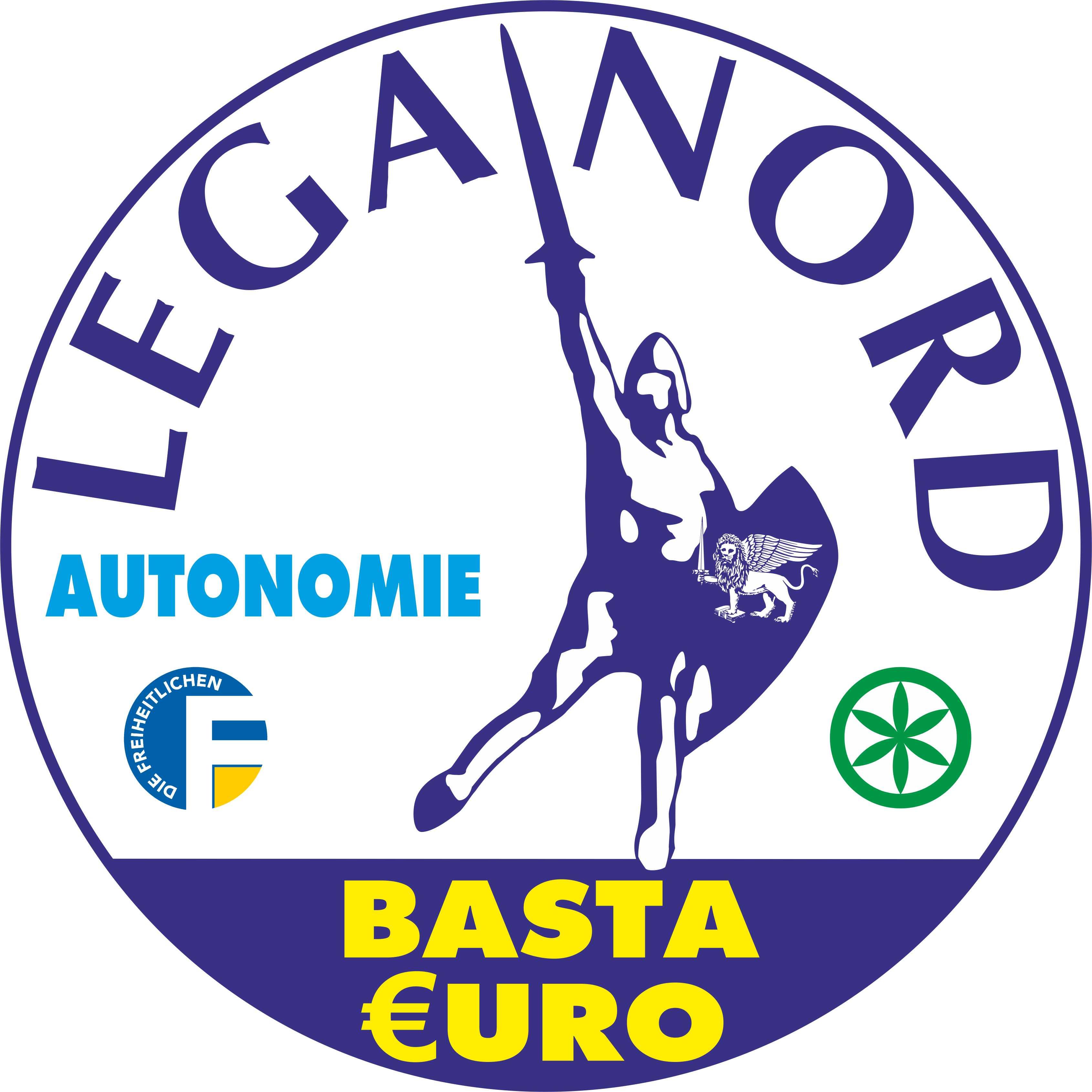 Simbolo LEGA NORD europee 2014