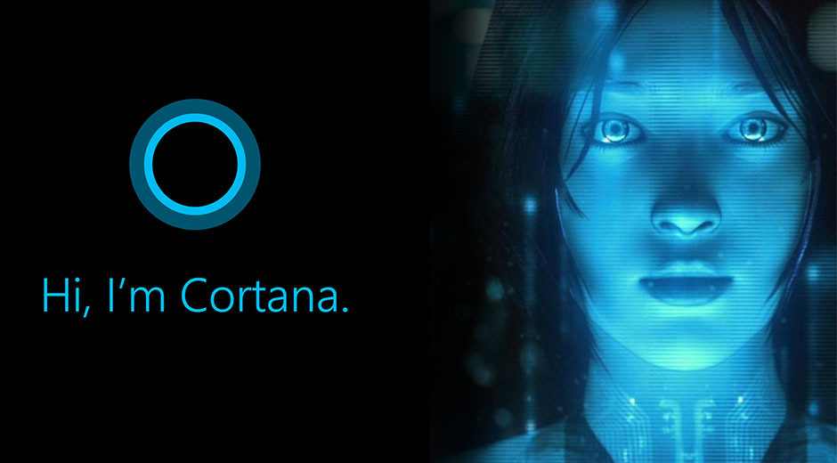"L'assistente vocale in versione ""umana"", Cortana."
