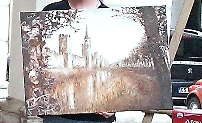 Il dipinto primo classificato