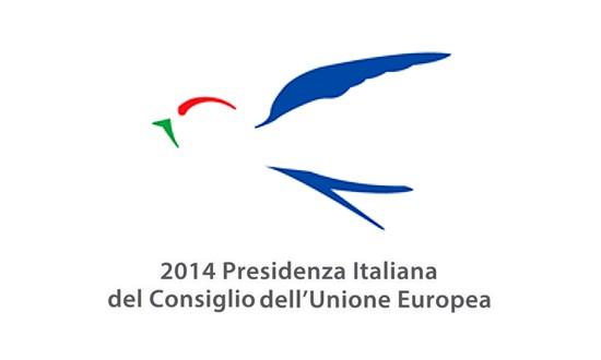 Logo del semestre di presidenza italiana