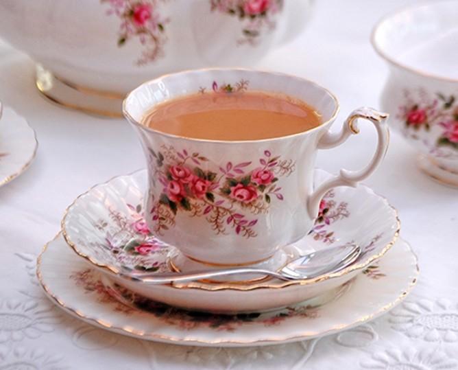 Il classico servizio da tè inglese