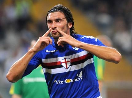 Emiliano Bonazzoli, 35 anni, ai tempi della Sampdoria (Foto: venetogol.it)