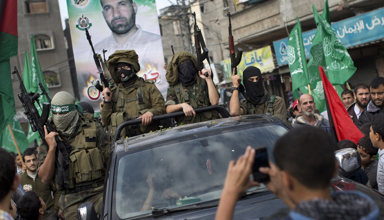 Guerriglieri di Hamas (Foto: jetmag.com)