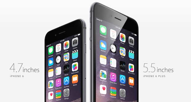 iPhone 6 e 6 Plus Fonte: http://www.melablog.it