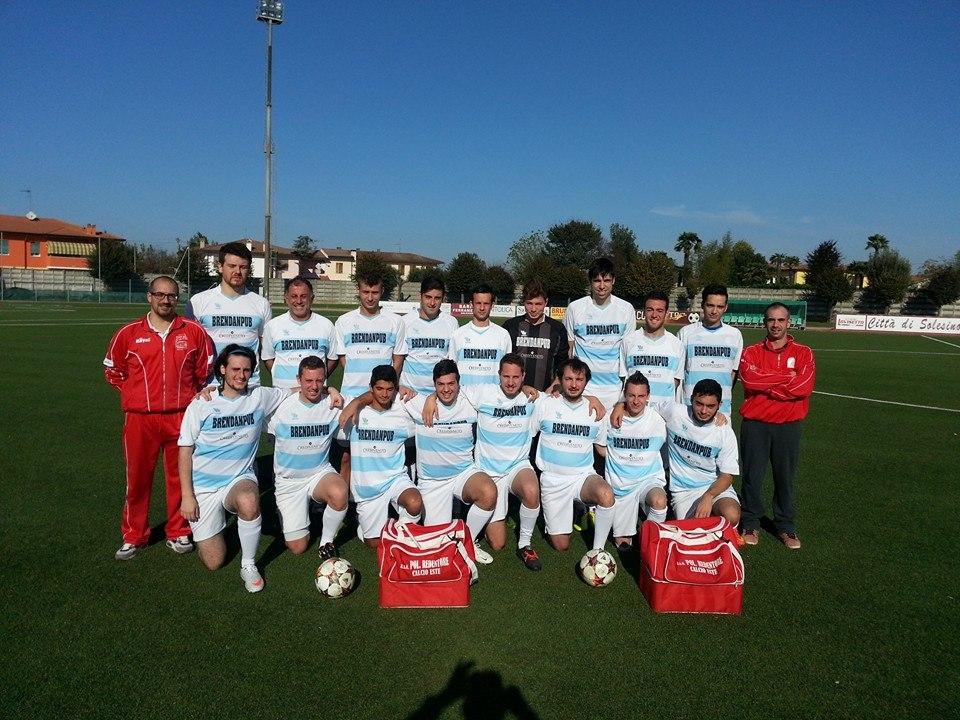 La rosa del Redentore Calcio per la stagione 2014-2015 (Foto: gruppo Facebook della squadra)