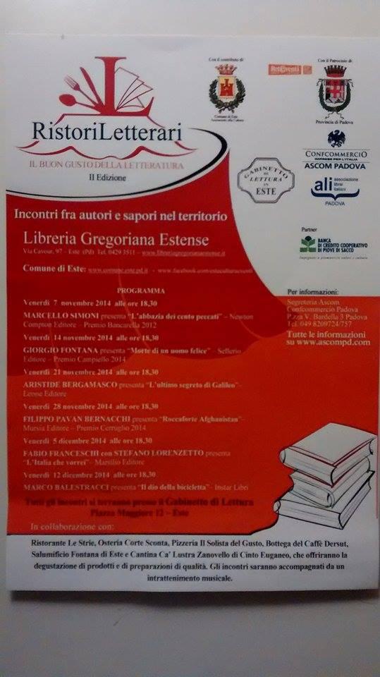 Ristori Letterari 2014