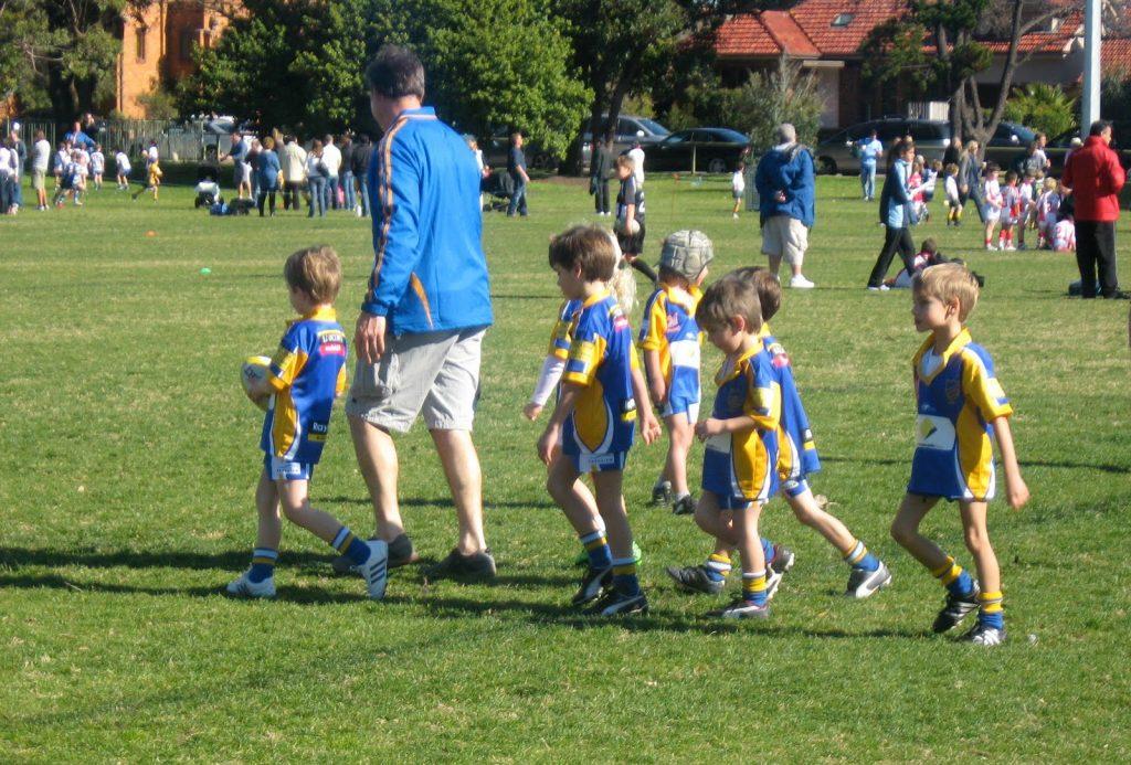 bambini sport genitori