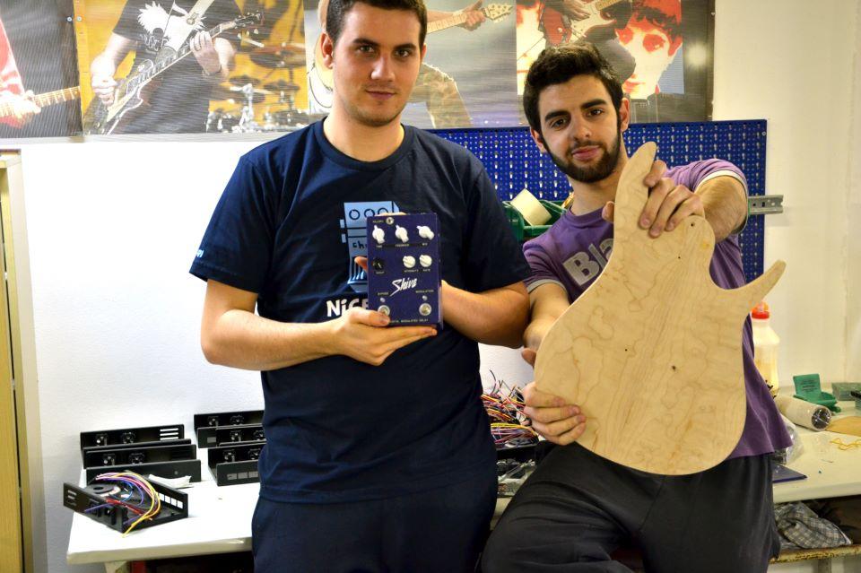 (Da sinistra a destra, Luca Baratella e Marco Vigato)