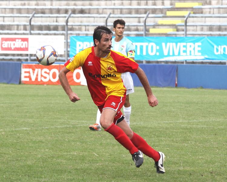 (Roberto Rondon, autore di una doppietta contro il Fidenza. Foto gentilmente concessa da www.photoroom.it)