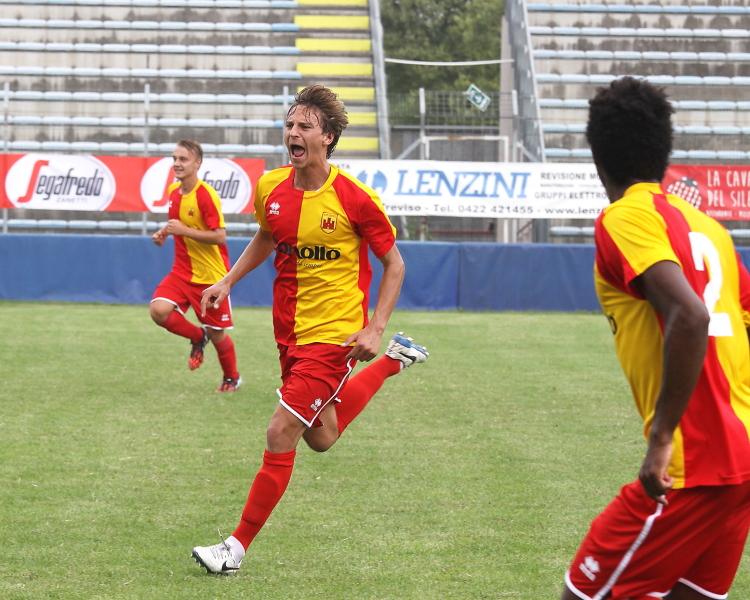 (Alberto Rubbo, match winner del match con l'Abano. Foto gentilmente concessa da www.photoroom.it)