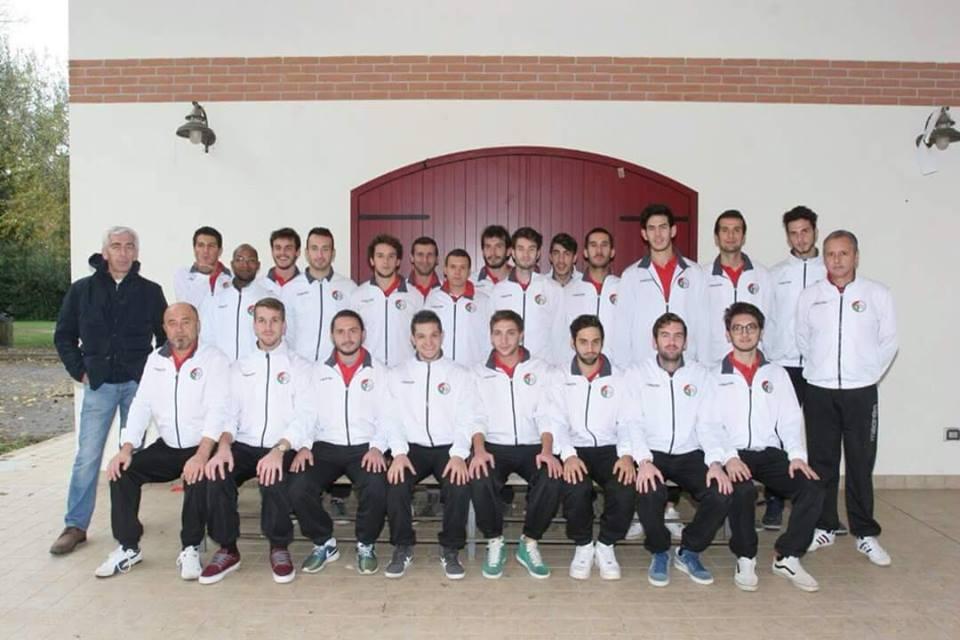 (La rosa del San Giuseppe Abano per la stagione 2014-2015)