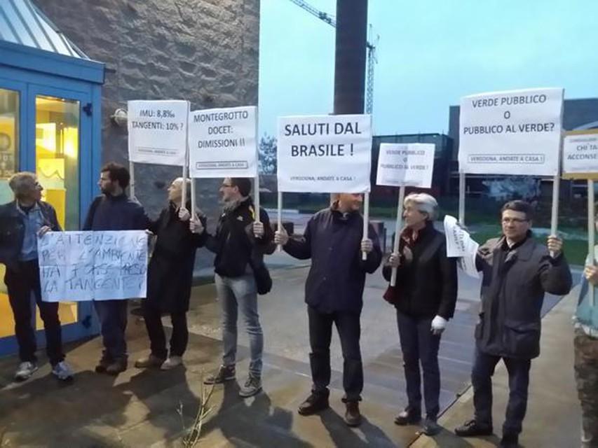 protesta abano terme