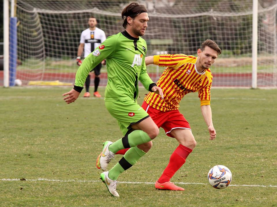(Uno scatto del derby di ritorno terminato 0-0. Foto di gentile concessione di www.photoroom.it)