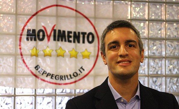 (Jacopo Berti, candidato alla presidenza della Regione Veneto con il Movimento Cinque Stelle. Fonte foto: www.padova5stelle.it)