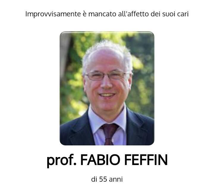 professore fabio feffin