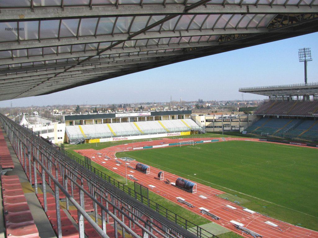 Lo stadio Euganeo di Padova, teatro delle finali di ieri (Fonte foto: www.bresciainrete.org)
