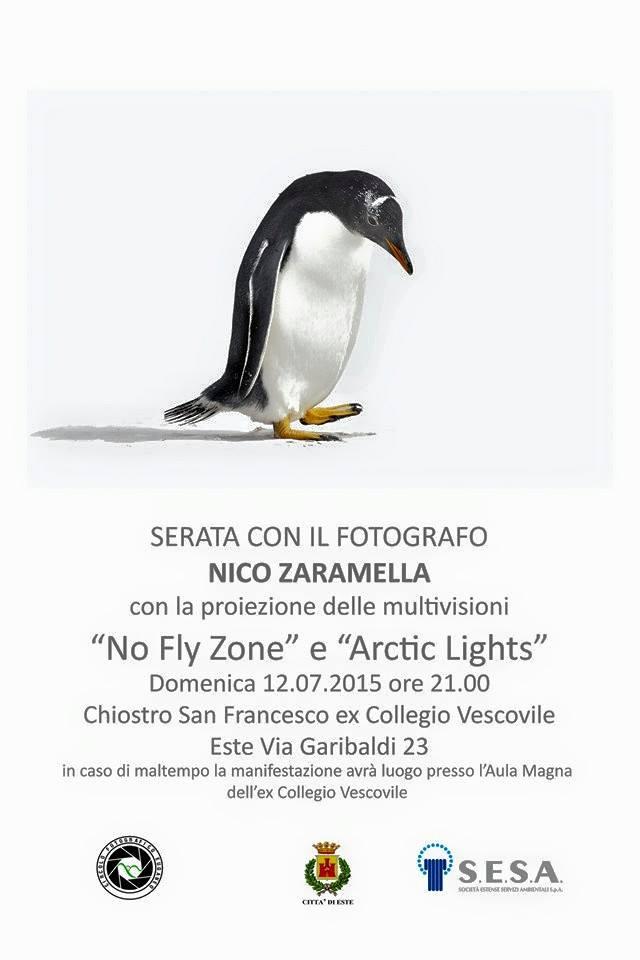 Locandina della serata con Nico Zaramella (fotografia: facebook.it)