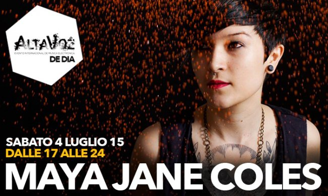 Maya Jane Coles Sherwood15 fonti: www.sherwood.it