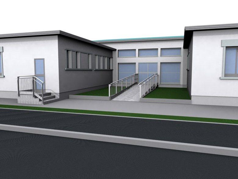 (Progetto lavori scuola primaria L. Tempesta a Volparo, Legnaro. Fonte foto: www.archilovers.com)