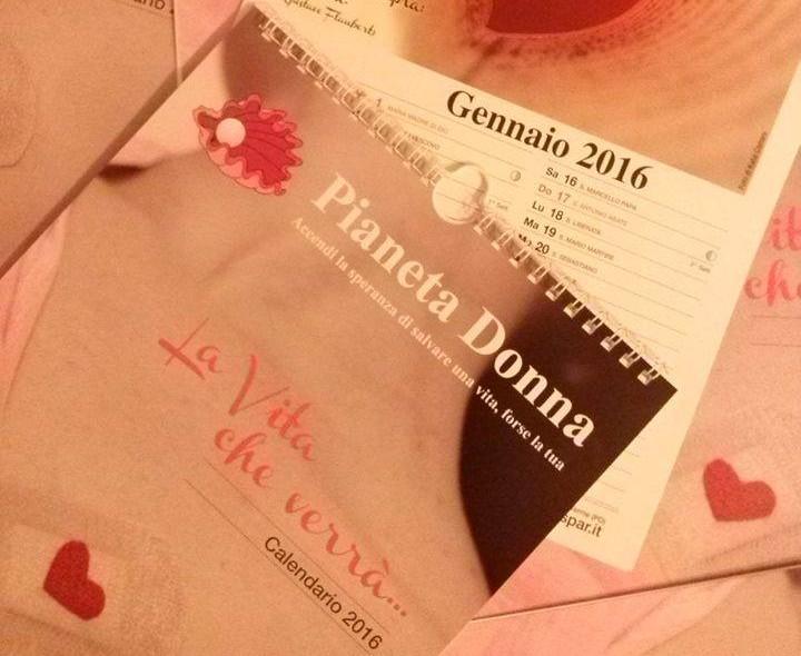 "(I calendari 2016 ""La vita che verrà"" di Pianeta Donna)"