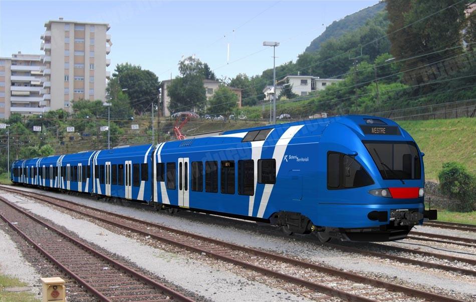 (Un treno regionale Stadler. Fonte foto: www.duegieditrice.it)
