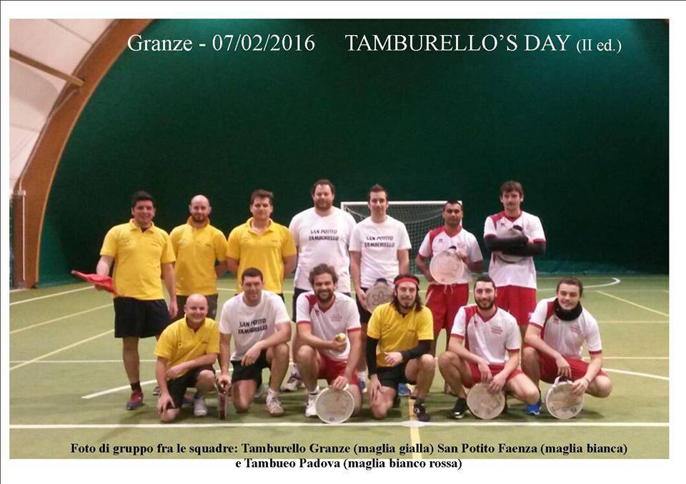 """(Fonte foto: pagina Facebook """"Tamburello Granze"""""""