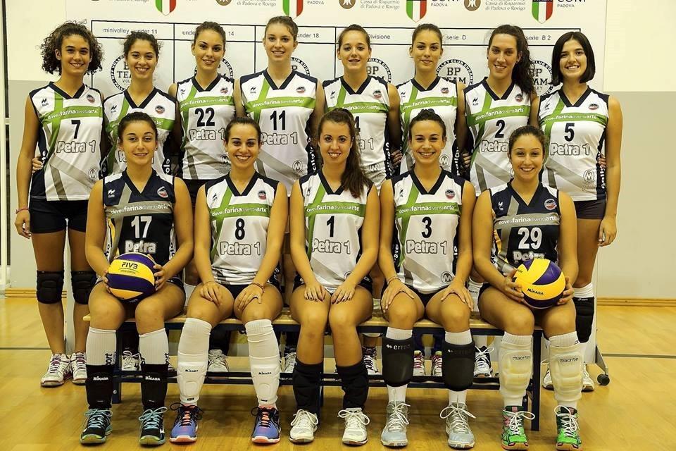 (Le ragazze del BPTeam che disputano i campionati di Serie C e Under 18)