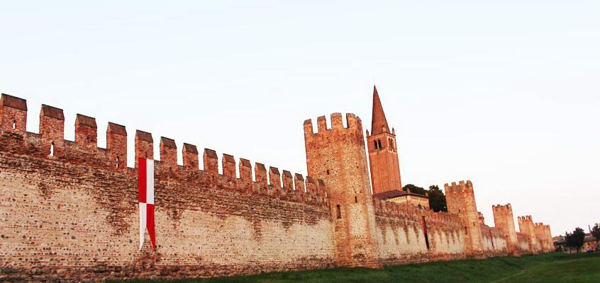 città murate montagnana mura