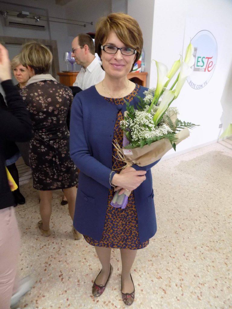 (La candidata sindaco del centrodestra Roberta Gallana)
