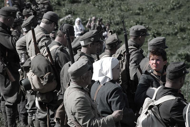 Merlara, Tre giorni al tempo della Grande Guerra
