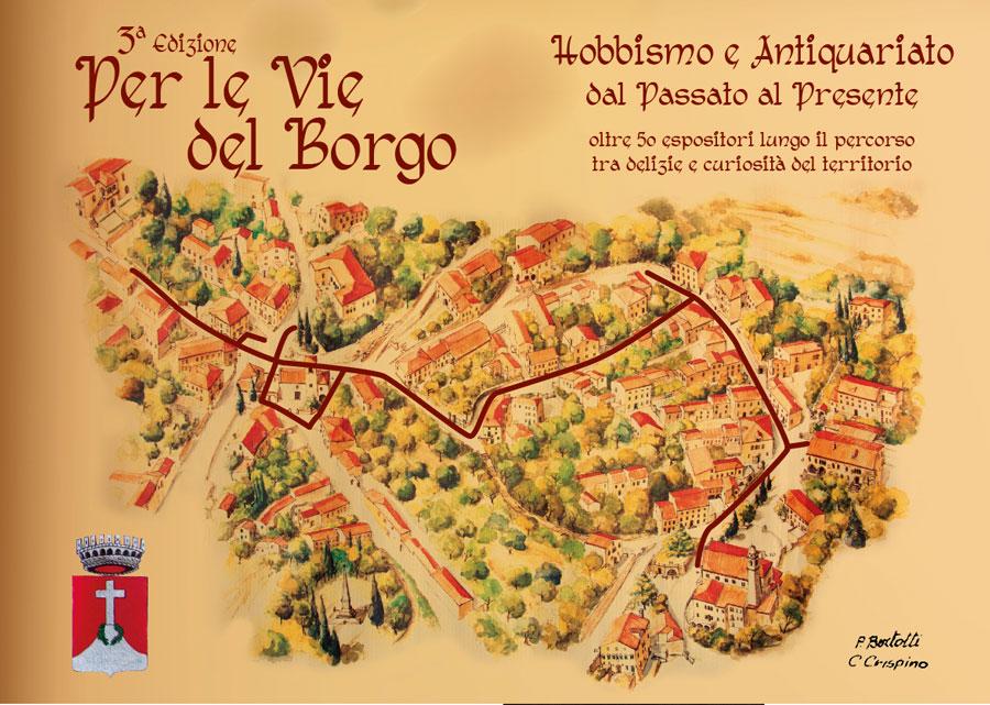 (La mappa dell'evento. Fonte foto: www.euganeamente.it.)