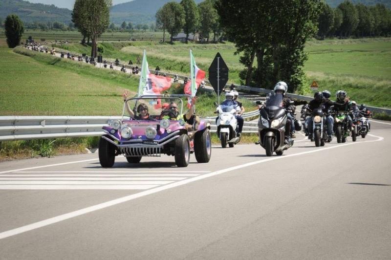 Deserte d'Este, 4 Motoincontro di Andiamo Bikers
