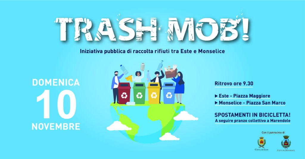 """Tra Este e Monselice la raccolta rifiuti si fa in bici: arriva """"TrashMob!"""" - Estensione"""
